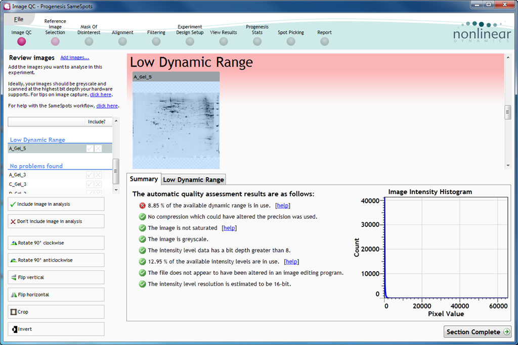 pdquest 2d analysis software free